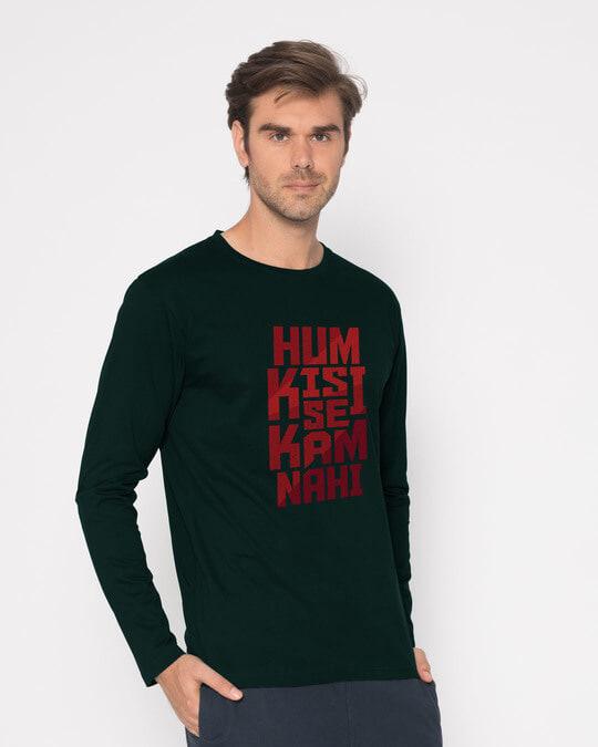 Shop Hum Kisi Se Full Sleeve T-Shirt-Back
