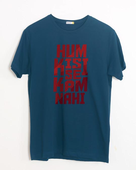 Shop Hum Kisi Se Half Sleeve T-Shirt-Front