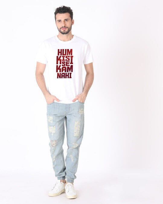 Shop Hum Kisi Se Half Sleeve T-Shirt