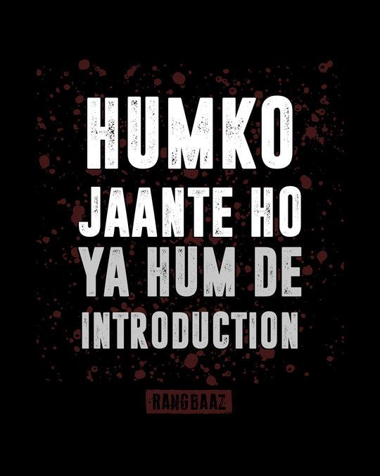 Shop Humko Jaante Ho Boyfriend T-Shirt