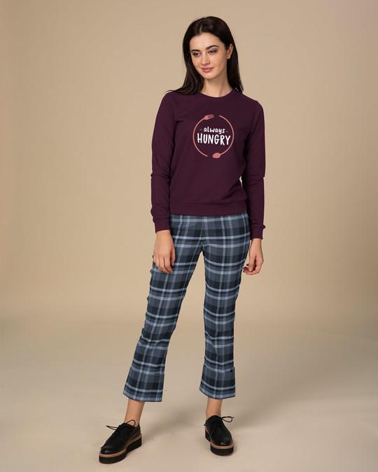 Shop Hungry Always Sweatshirt-Design