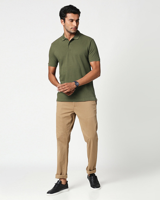 Shop Hunter Green Classic Polo-Full