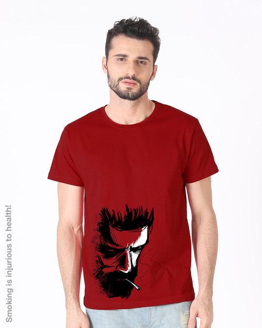 Shop Hurt Half Sleeve T-Shirt-Back