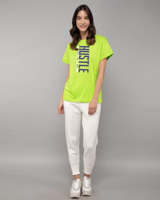 Shop Hustle 24x7 Boyfriend T-Shirt-Design