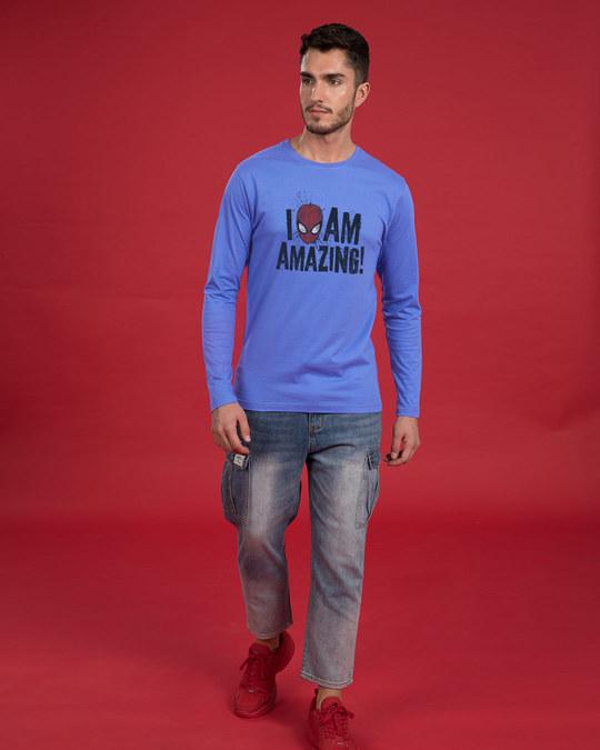 Shop I Am Amazing Full Sleeve T-Shirt (SPL)-Design