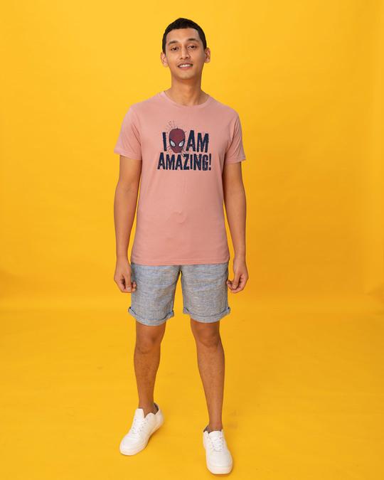 Shop I Am Amazing Half Sleeve T-Shirt (SPL)-Full