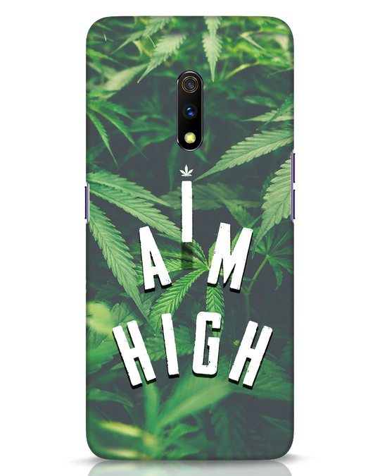 Shop I Am High Realme X Mobile Cover-Front