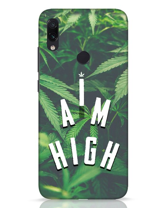 Shop I Am High Xiaomi Redmi Note 7 Pro Mobile Cover-Front
