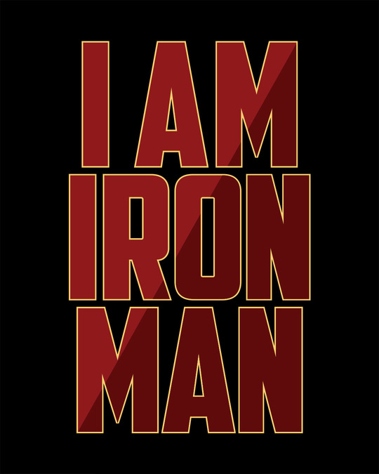 Shop I Am Iron Man Full Sleeve T-Shirt (AVL)