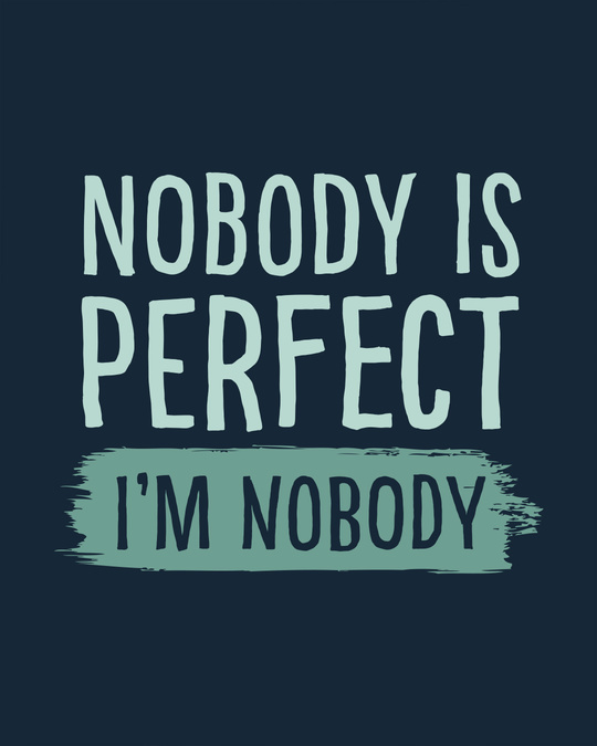 Shop I Am Nobody Basic Round Hem T-Shirt