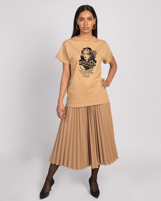 Shop I Am Wonder Woman Boyfriend T-Shirt (DCL)-Design