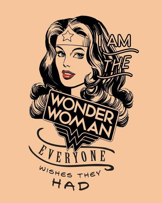 Shop I Am Wonder Woman Boyfriend T-Shirt (DCL)-Full
