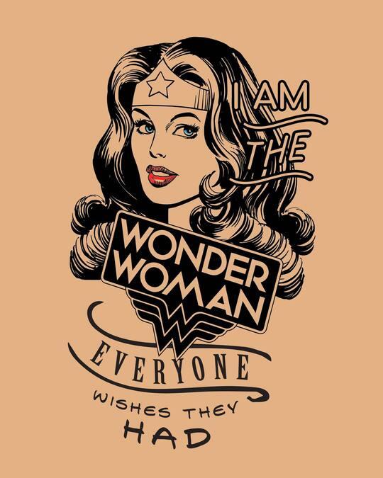 Shop I Am Wonder Woman Fleece Light Sweatshirts (DCL)-Full