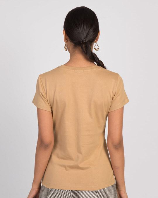 Shop I Am Wonder Woman Half Sleeve T-Shirt (DCL)-Back