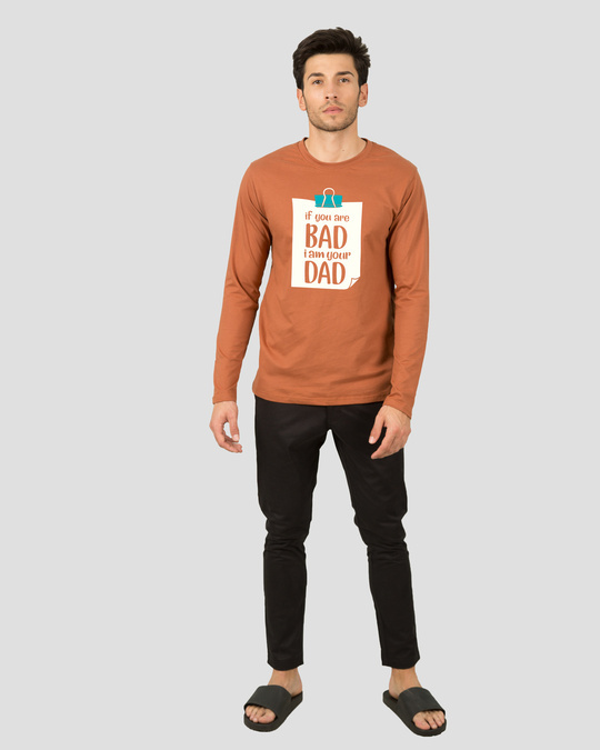Shop I Am Your Dad Full Sleeve T-Shirt-Design