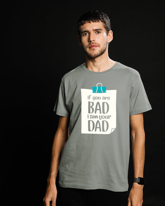 Shop I Am Your Dad Half Sleeve T-Shirt-Back