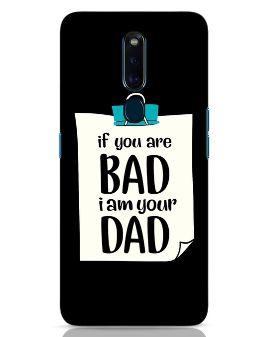 Shop I Am Your Dad Oppo F11 Pro Mobile Cover-Front