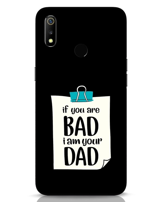 Shop I Am Your Dad Realme 3 Mobile Cover-Front