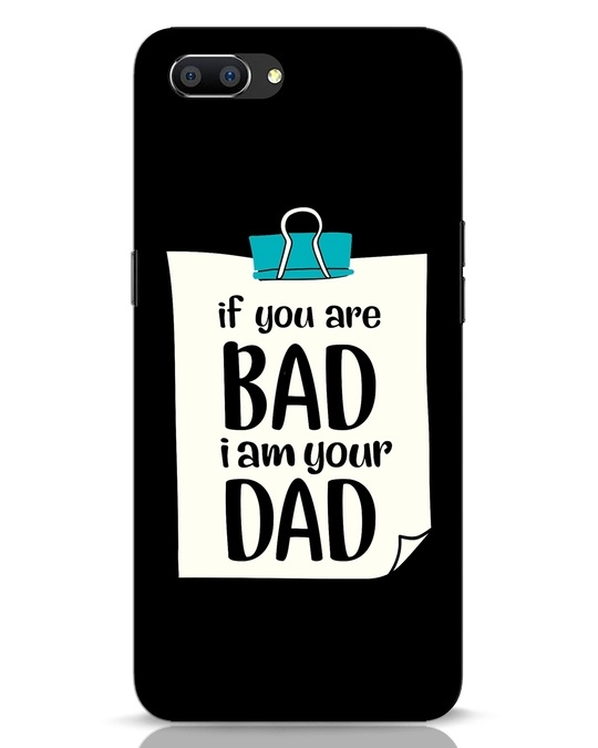 Shop I Am Your Dad Realme C1 Mobile Cover-Front
