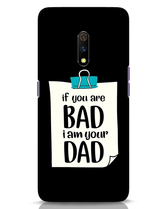 Shop I Am Your Dad Realme X Mobile Cover-Front