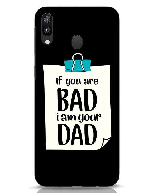 Shop I Am Your Dad Samsung Galaxy M20 Mobile Cover-Front