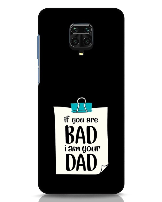 Shop I Am Your Dad Xiaomi Redmi Note 9 Pro Mobile Cover-Front