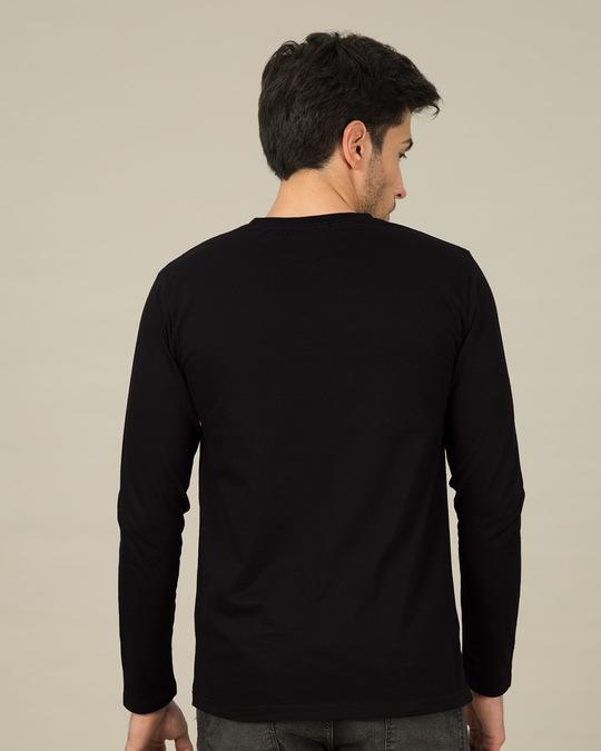 Shop I Do Nothing Full Sleeve T-Shirt-Back