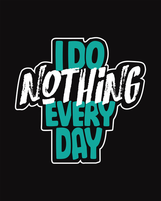 Shop I Do Nothing Vest-Full