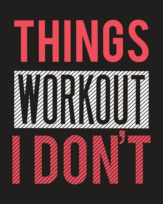 Shop I Don't Workout Notebook