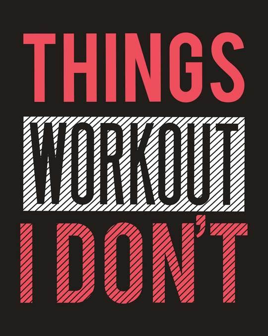 Shop I Don't Workout Notebook