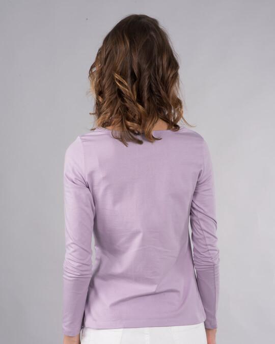 Shop I Have Mixed Feelings Scoop Neck Full Sleeve T-Shirt-Back