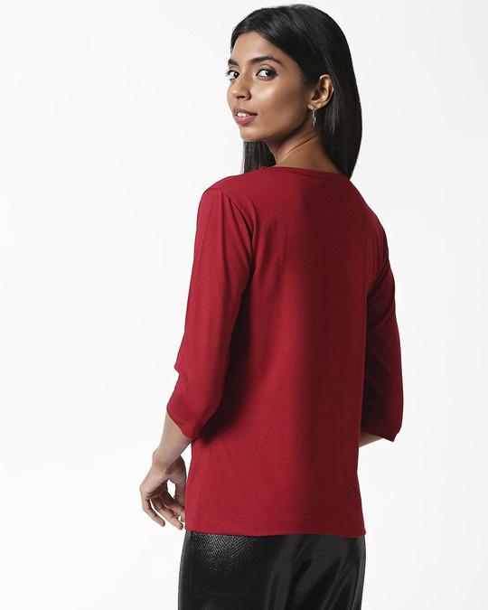 Shop I'm Amazing Round Neck 3/4 Sleeve T-Shirts (TJL)-Design
