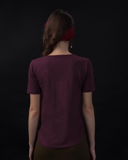 Shop I'm Perfect Basic Round Hem T-Shirt-Full