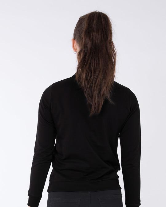 Shop I'm Perfect Fleece Light Sweatshirt-Back
