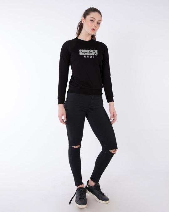 Shop I'm Perfect Fleece Sweater-Design