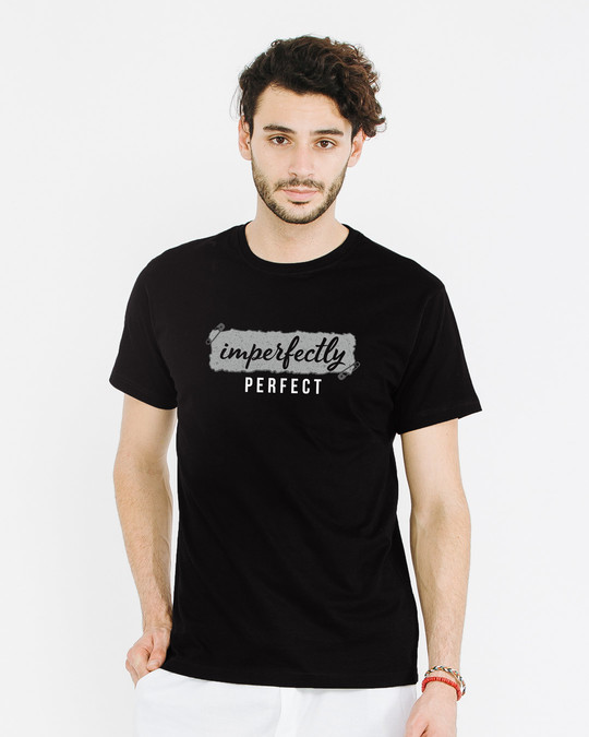 Shop I'm Perfect Half Sleeve T-Shirt-Back