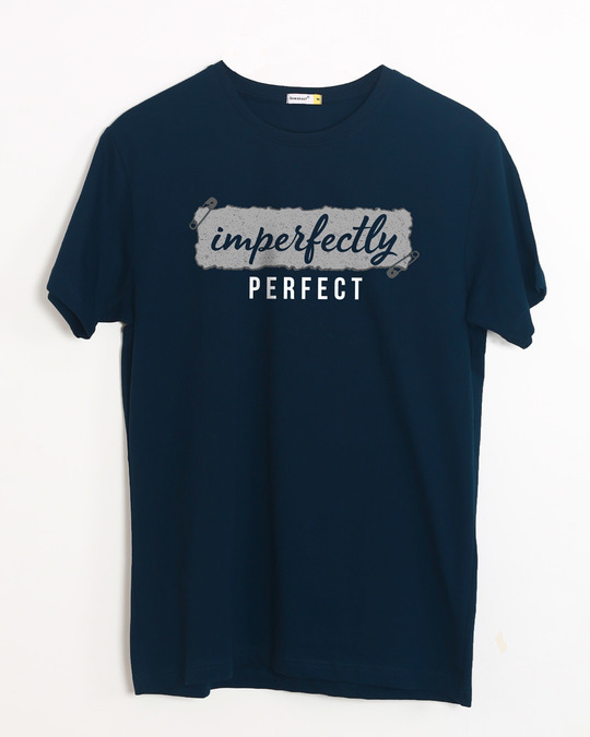 Shop I'm Perfect Half Sleeve T-Shirt-Front