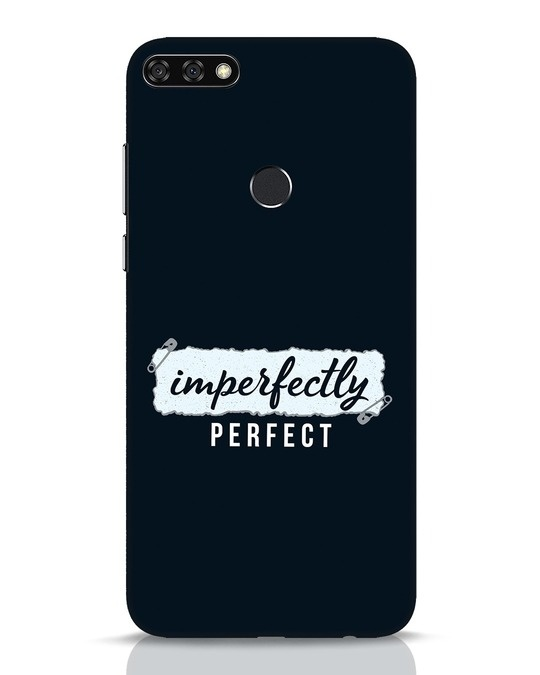 Shop I'm Perfect Huawei Honor 7C Mobile Cover-Front