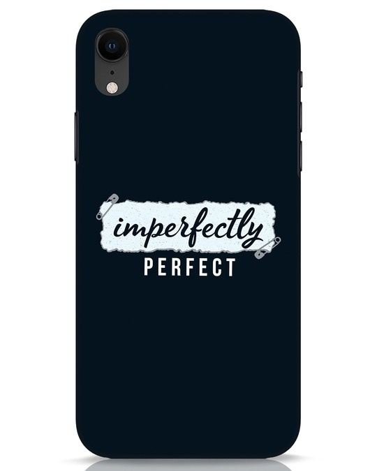 Shop I'm Perfect iPhone XR Mobile Cover-Front