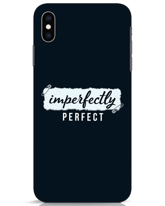 Shop I'm Perfect iPhone XS Max Mobile Cover-Front