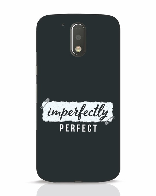 Shop I'm Perfect Moto G4 Plus Mobile Cover-Front