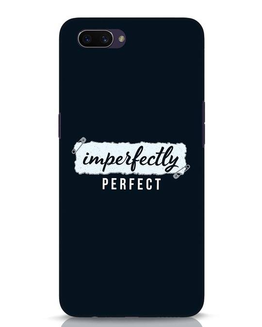 Shop I'm Perfect Oppo A3S Mobile Cover-Front