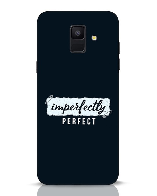 Shop I'm Perfect Samsung Galaxy A6 2018 Mobile Cover-Front