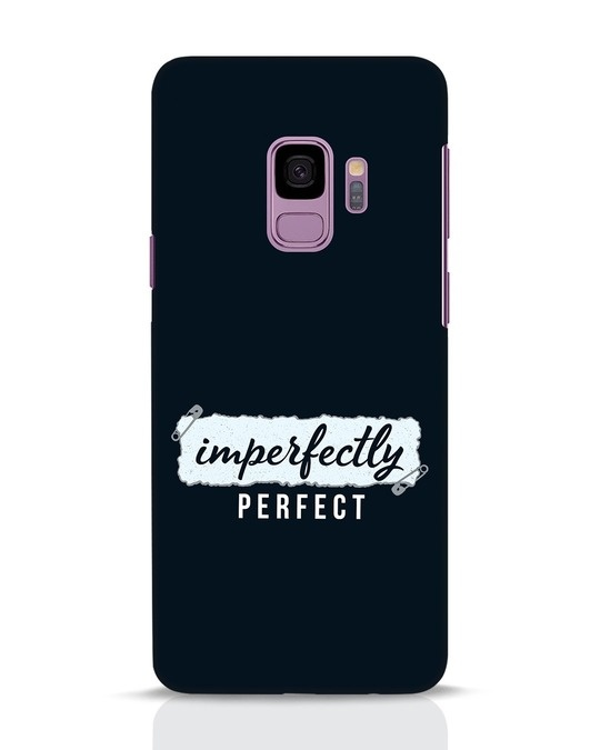 Shop I'm Perfect Samsung Galaxy S9 Mobile Cover-Front