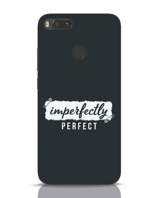 Shop I'm Perfect Xiaomi Mi A1 Mobile Cover-Front