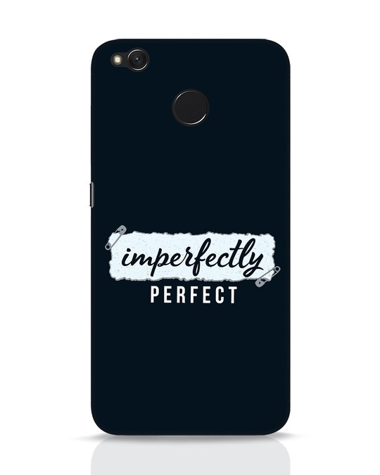 Shop I'm Perfect Xiaomi Redmi 4 Mobile Cover-Front