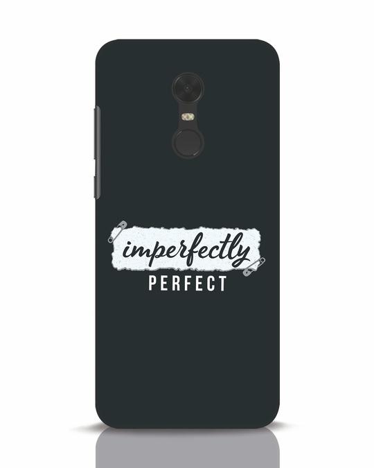Shop I'm Perfect Xiaomi Redmi Note 5 Mobile Cover-Front