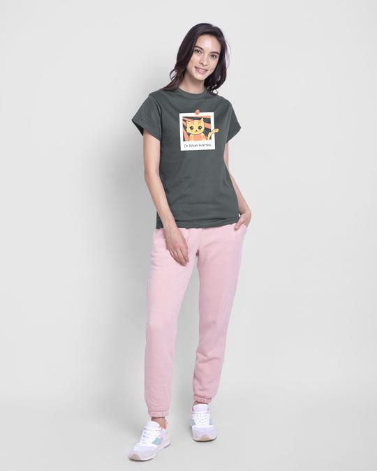 Shop I'm Picture Purrrfect Boyfriend T-Shirt-Design