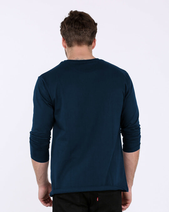 Shop Idgaf Full Sleeve T-Shirt-Design