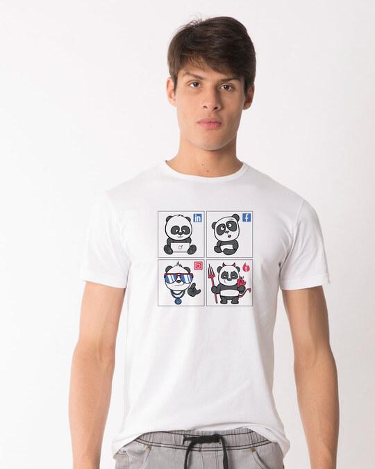Shop Ig Fb In Tn Half Sleeve T-Shirt-Front